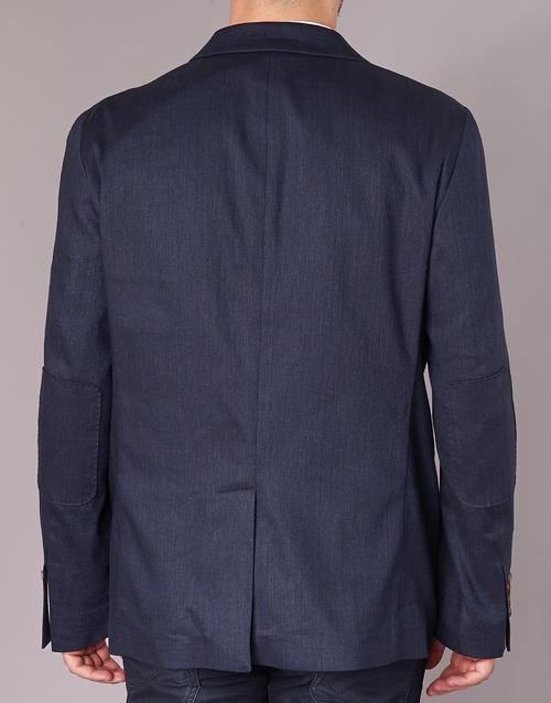 Serge Blanco SUTTON Marinho - Entrega gratuita  - Textil Casacos/Blazers Homem 28720