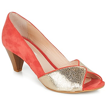 Sapatos Mulher Escarpim Betty London ESQUIBE Coral