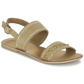 Sapatos Mulher Sandálias Betty London IKARI Bege