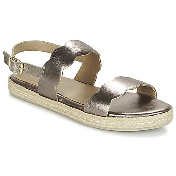 Sapatos Mulher Sandálias Betty London IKARO Prata