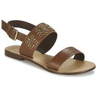 Sapatos Mulher Sandálias Betty London IKIMI Castanho