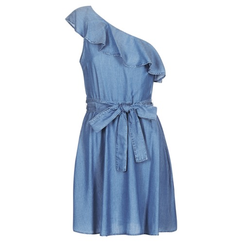 Textil Mulher Vestidos curtos MICHAEL Michael Kors ONE SHLDR RUFFLE DRS Ganga
