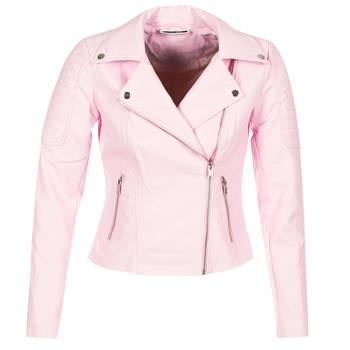 Textil Mulher Casacos de couro/imitação couro Noisy May NMREBEL Rosa