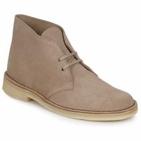 Sapatos Homem Botas baixas Clarks DESERT BOOT Areia
