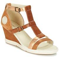 Sapatos Mulher Sandálias Pataugas WAMI-F2B Camel