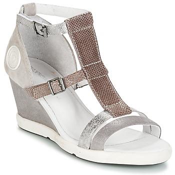 Sapatos Mulher Sandálias Pataugas WAMI-F2B Cinza