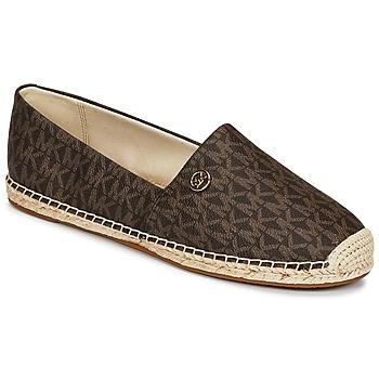 Sapatos Mulher Alpargatas MICHAEL Michael Kors KENDRICK SLIP ON Castanho