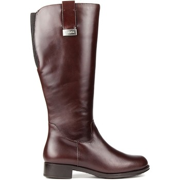 Sapatos Mulher Botas CallagHan Botas  BOND RIDE CHOCOLATE