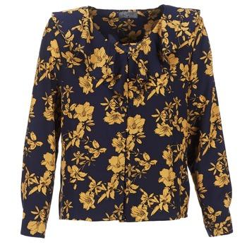 Textil Mulher Tops / Blusas Casual Attitude IDAFIL Marinho