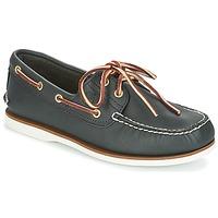Sapatos Homem Sapato de vela Timberland CLASSIC 2 EYE Azul
