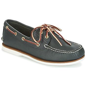 Sapatos Homem Sapato de vela Timberland CLASSIC 2 EYE Navy