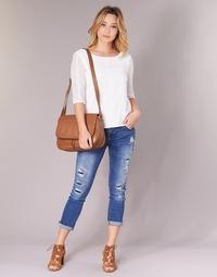 Textil Mulher Tops / Blusas Betty London INNATI Branco