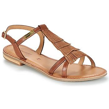 Sapatos Mulher Sandálias Les Tropéziennes par M Belarbi BELIE Castanho