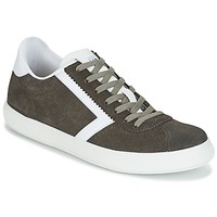 Sapatos Homem Sapatilhas Yurban RETIPUS Cinza / Cáqui
