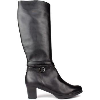 Sapatos Mulher Botas Kroc S DE COURO ALTO DO NEGRO