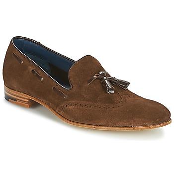 Sapatos Homem Mocassins Barker RAY Castanho