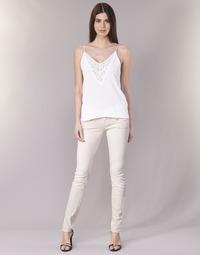 Textil Mulher Calças Freeman T.Porter ALEXA SLIM MAGIC COLOR Rosa