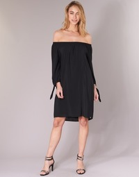 Textil Mulher Vestidos curtos LPB Shoes ARIN Preto