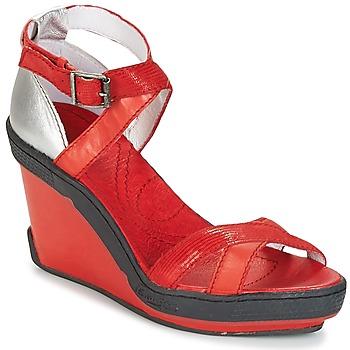 Sapatos Mulher Sandálias Pataugas GOUY Vermelho