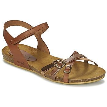 Sapatos Rapariga Sandálias Kickers BONAVISTA Camel