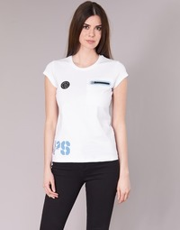 Textil Mulher T-Shirt mangas curtas Philipp Plein Sport SITTIN OVER HERE Branco