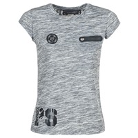 Textil Mulher T-Shirt mangas curtas Philipp Plein Sport SITTIN OVER HERE Cinza