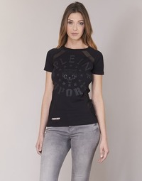 Textil Mulher T-Shirt mangas curtas Philipp Plein Sport FORMA LINEA Preto
