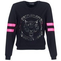 Textil Mulher Sweats Philipp Plein Sport LET YOUR MIND FREE Preto / Ouro