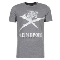 Textil Homem T-Shirt mangas curtas Philipp Plein Sport BORIS Cinza / Prata