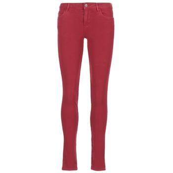 Textil Mulher Calças de ganga slim Guess SANSOPO Vermelho
