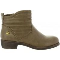 Sapatos Rapariga Botins Cheiw 46033 Beige