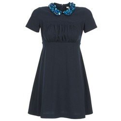 Textil Mulher Vestidos curtos Manoush COMMUNION Azul