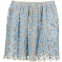 Textil Mulher Saias Manoush ARABESQUE Azul / Dourado