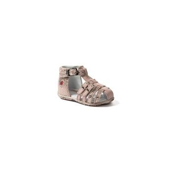 Sapatos Rapariga Sandálias GBB SAMIRA Rosa / Pele