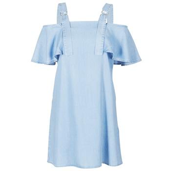 Textil Mulher Vestidos curtos Guess RACUNO Azul
