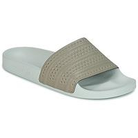 Sapatos chinelos adidas Originals ADILETTE Bege / Verde
