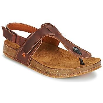 Sapatos Mulher Sandálias Art WE WALK Castanho