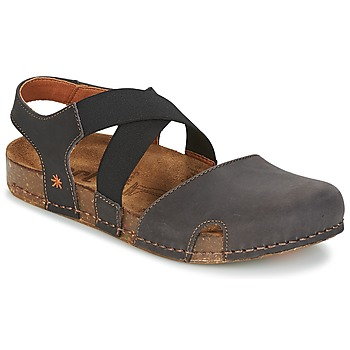 Sapatos Mulher Sandálias Art WE WALK Cinza / Preto