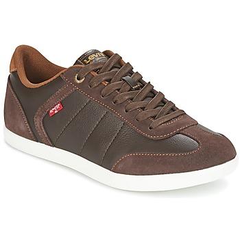 Sapatos Homem Sapatilhas Levi's LOCH Castanho