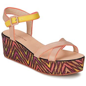 Sapatos Mulher Sandálias Paul & Joe Sister JENI Bege / Multicolor