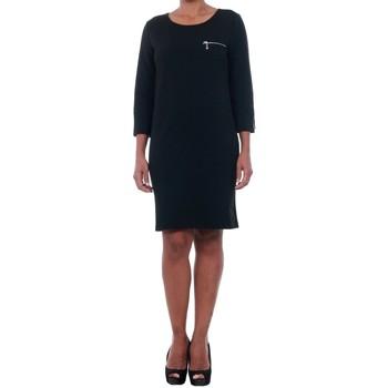 Textil Mulher Vestidos curtos Jacqueline De Yong 15142620 JDYSAXO 3/4 DRESS JRS BLACK Negro