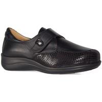 Sapatos Mulher Sapatos & Richelieu Calzamedi SAPATOS  TEXTURE STRETCH W NEGRO