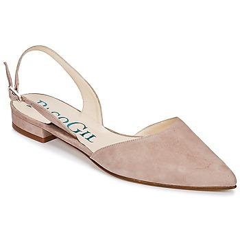 Sapatos Mulher Sandálias Paco Gil MARIE TOFLEX Cru