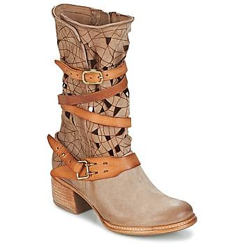 Sapatos Mulher Botas baixas Airstep / A.S.98 CRUZ Bege