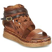 Sapatos Mulher Sandálias Airstep / A.S.98 LAGOS Castanho