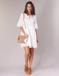 Textil Mulher Vestidos curtos Betty London INNATU Branco