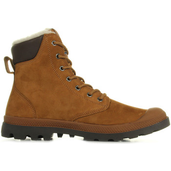Sapatos Homem Botas baixas Palladium Pampa Sport Wps Mahogany Chocolate Castanho