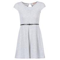 Textil Mulher Vestidos curtos Moony Mood IKIMI Branco / Marinho