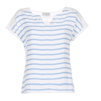 Textil Mulher Tops / Blusas Casual Attitude IYUREOL Branco / Azul