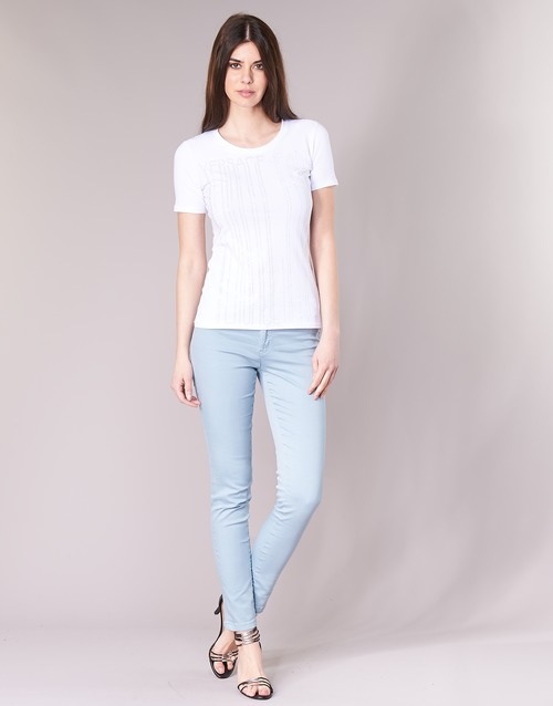 Textil Mulher Gangas Skinny Versace Jeans Couture A1HRB0J7 Azul